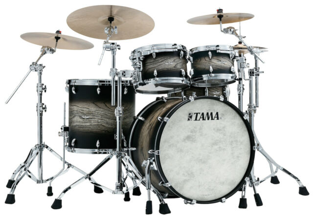 Tama Star Walnut 4PC Drum Set