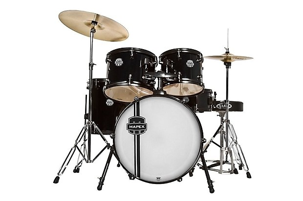 mapex voyager 5 piece drum set