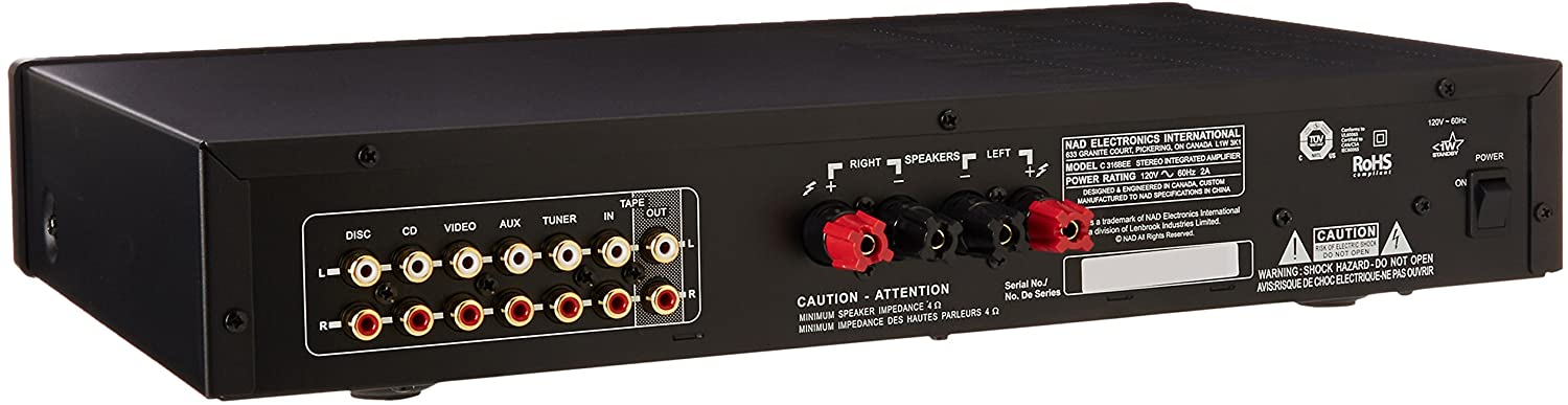 NAD C316BEE Integrated Amp